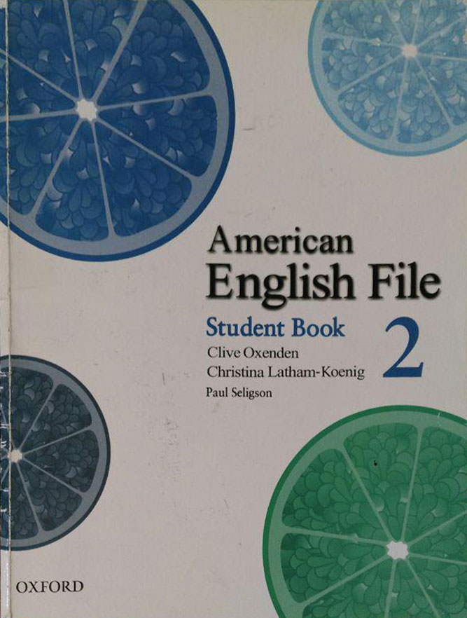کتاب دست دوم American English File - Student Book 2