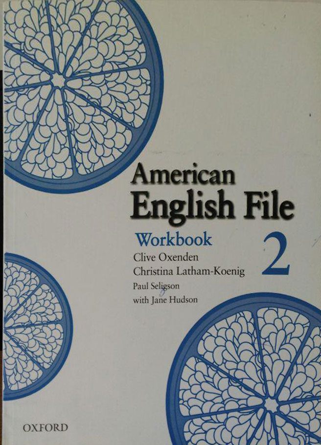 کتاب دست دوم American English File - WorkBook 2