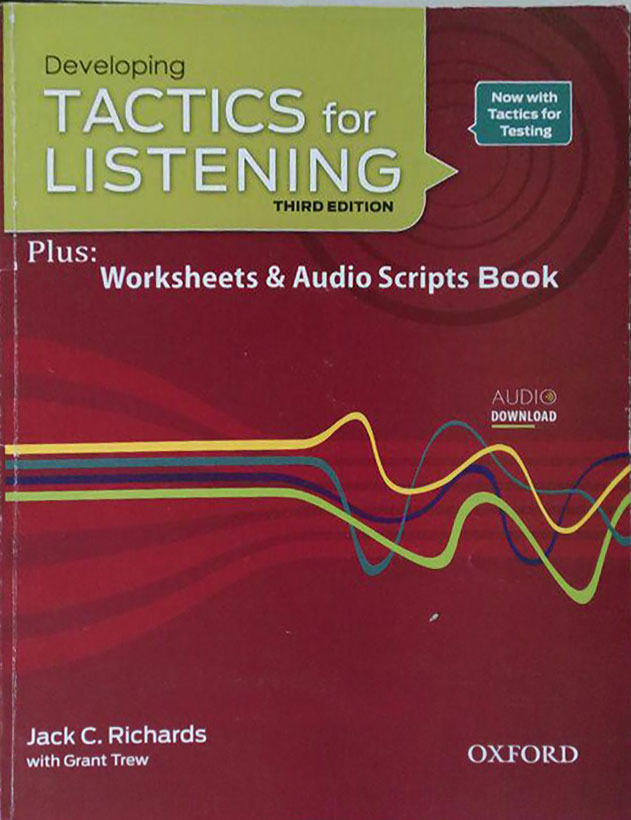 کتاب دست دوم Developing TACTICS for LISTENING + CD