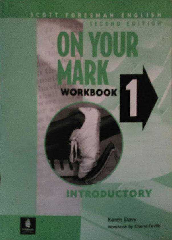 کتاب دست دوم ON YOUR MARK WORKBOOK 1 - Introductory