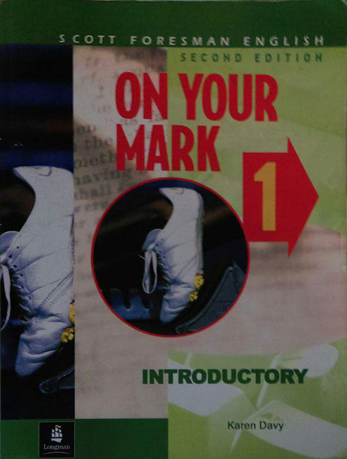 کتاب دست دوم ON YOUR MARK 1 - Introductory