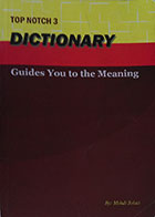 کتاب دست دوم Top Notch 3 Dictionary Guides you to the meaning