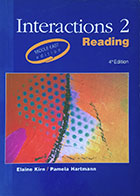 کتاب دست دوم Interaction 2 Reading Middle East Eddition