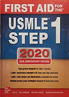 کتاب FIRST AID for the USMLE STEP 1 2020 - کاملا نو
